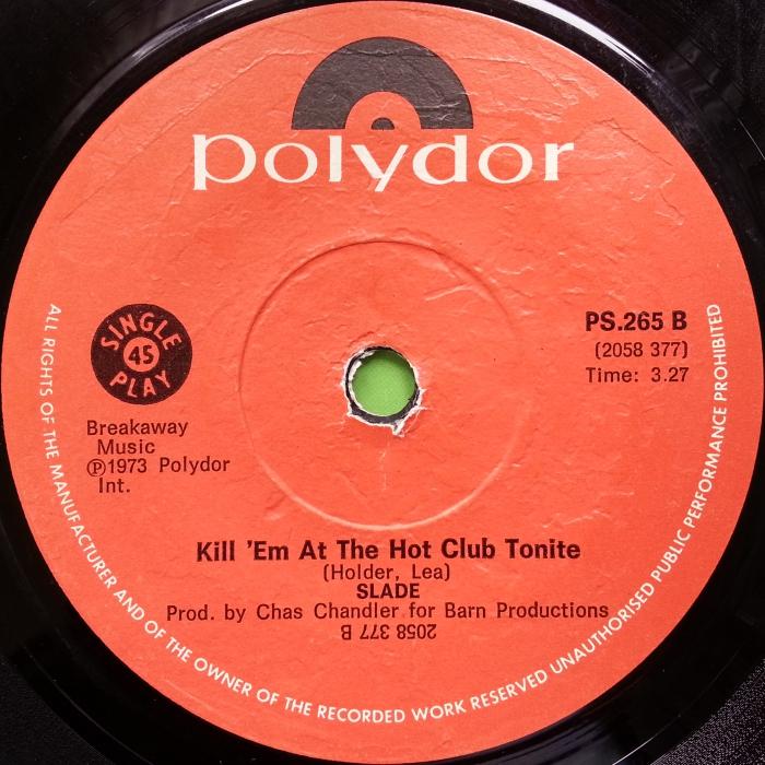 Slade Skweeze Me Pleeze Me Southern Rhodesia side 2