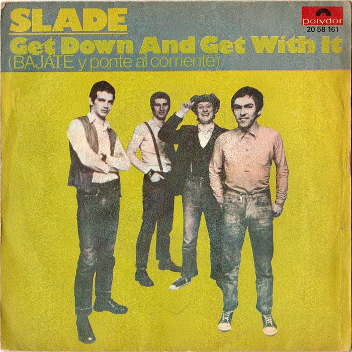 Slade Get Down And Get With It Spain front
