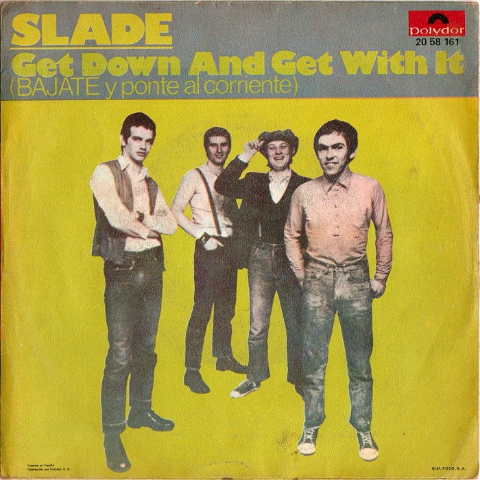 Slade Get Down And Get With It Spain back