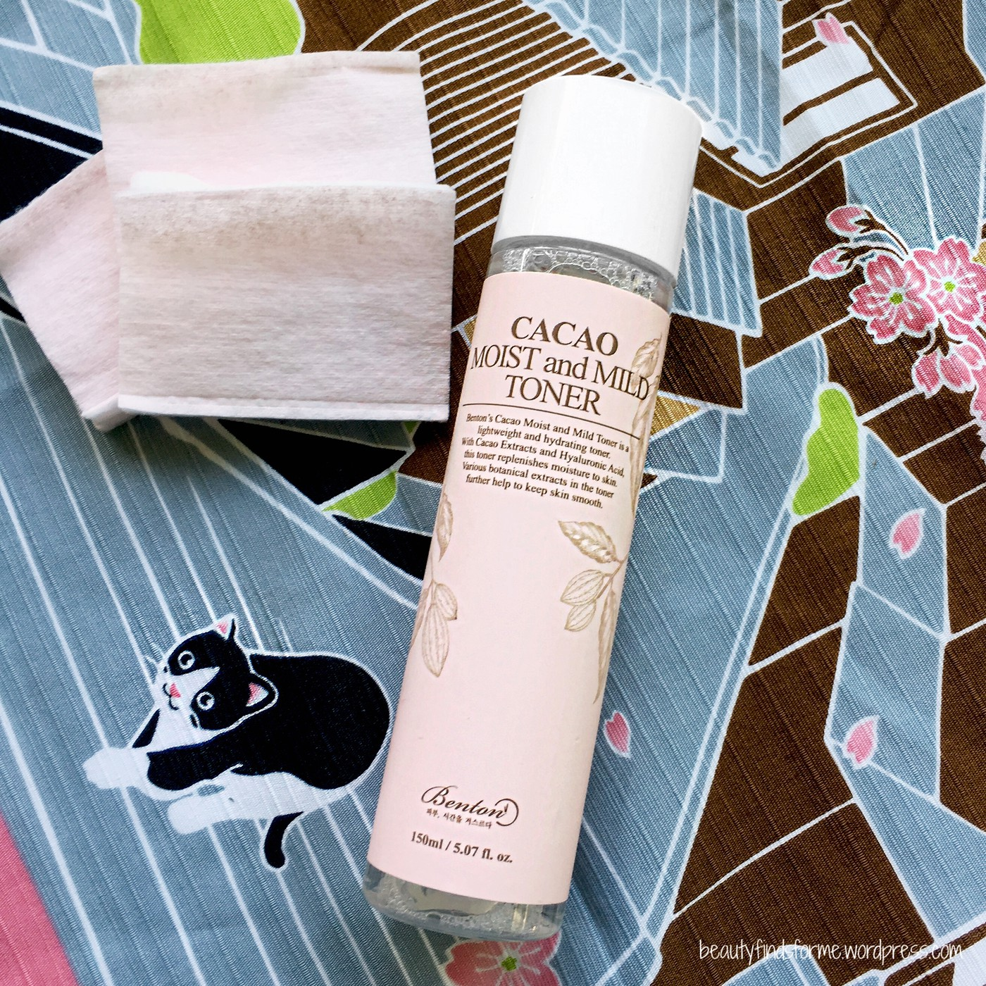 Benton Cacao Moist And Mild Toner Serum Review Unboxing Beauty Hydrating 150ml
