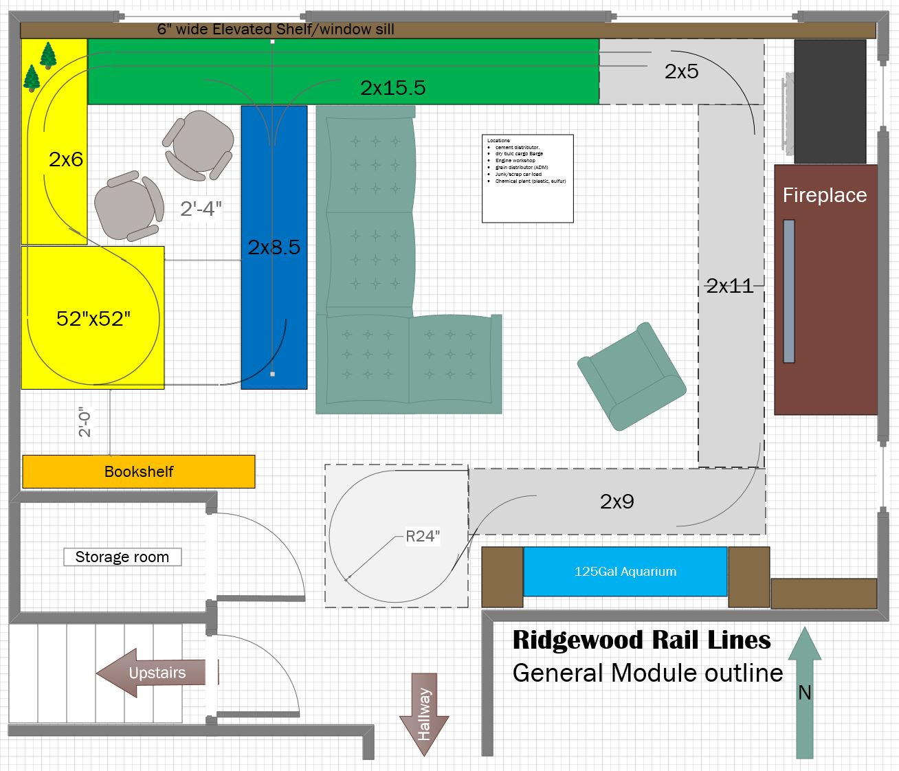 Planning Ridgewood lines - Model Railroader Magazine - Model ...