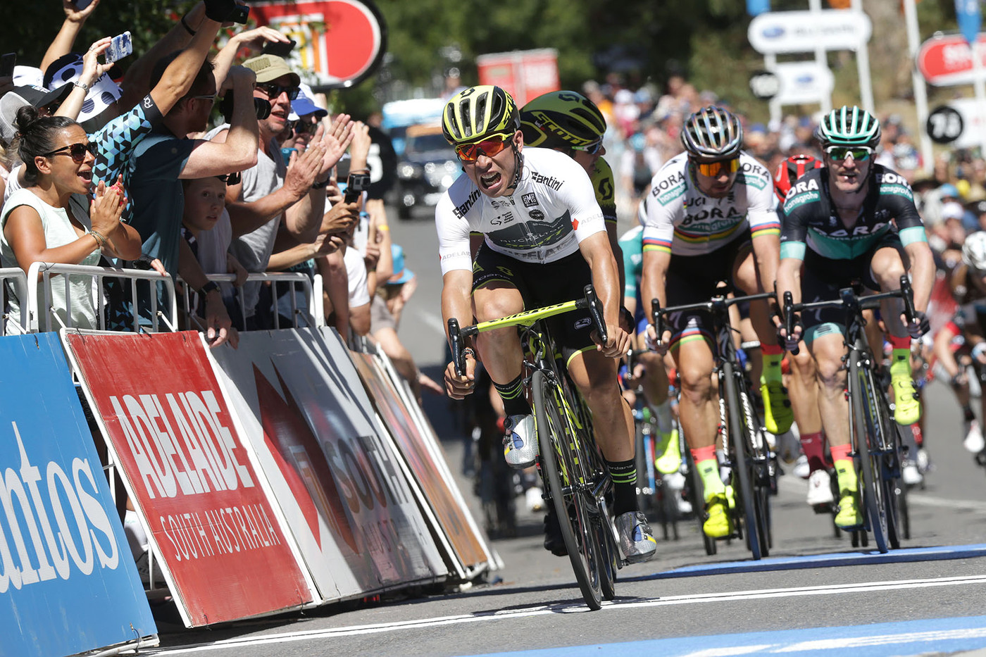 Greipel makes it 17 at the Tour Down Under