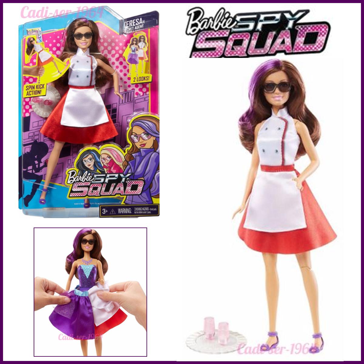 Barbie Spy Squad Teresa Secret Agent Disguise Doll