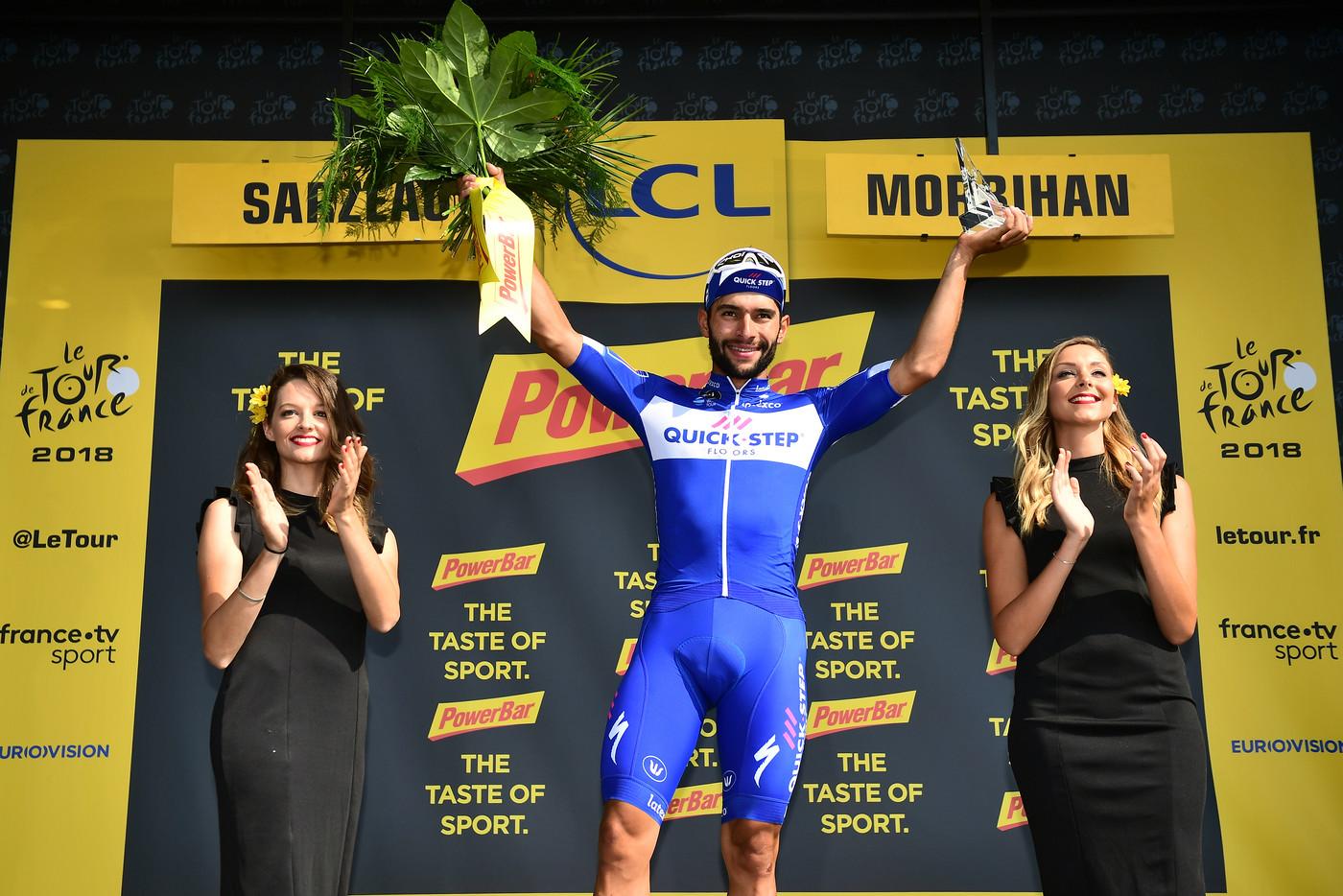 2018 Tour de France Fernando Gaviria stage winner