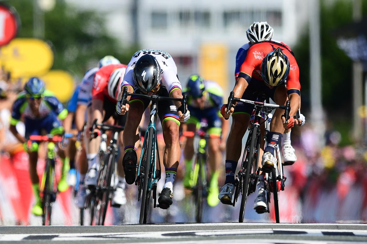 2018 Tour de France Sagan wins Stage 2