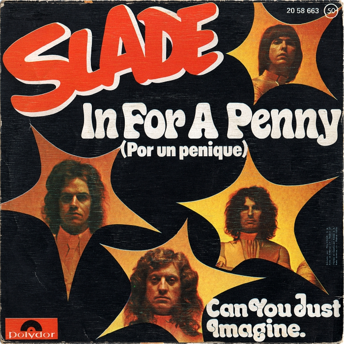 Slade In For A Penny Spain back