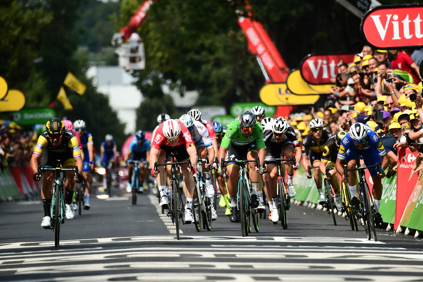 2018 Tour de France Greoenwegen wins Stage 8