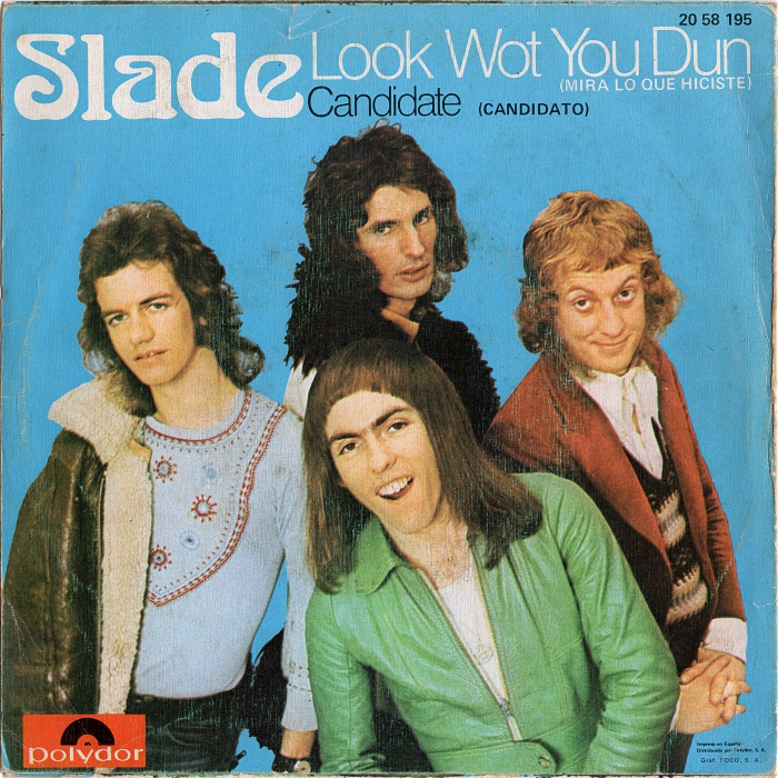 Slade Look Wot You Dun Spain back