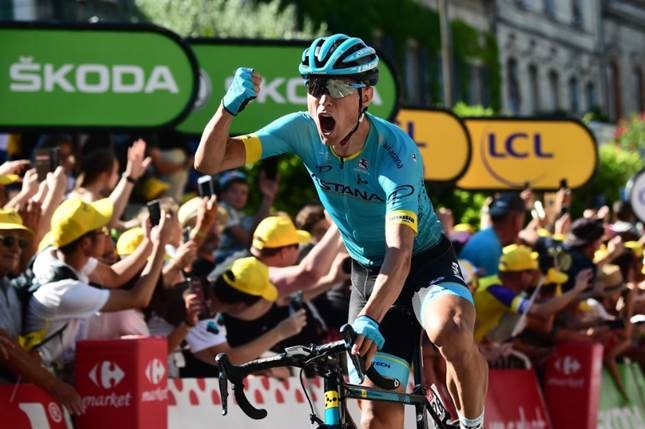 2018 Tour de France Magnus Cort Nilesen wins Stage 15