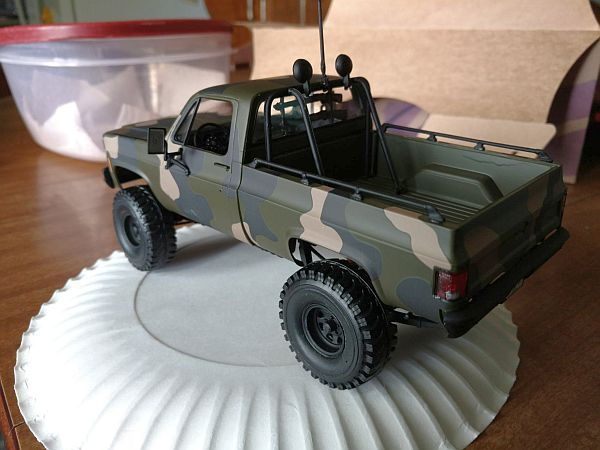Jacked Up Gmc Scale Auto Magazine For Building Plastic Resin
