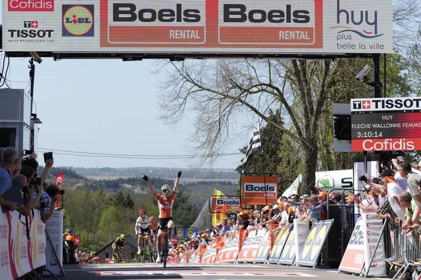 Anna Van Der Breggen La Flèche Wallonne