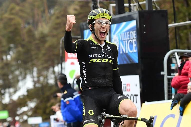 Yates wins Stage 7