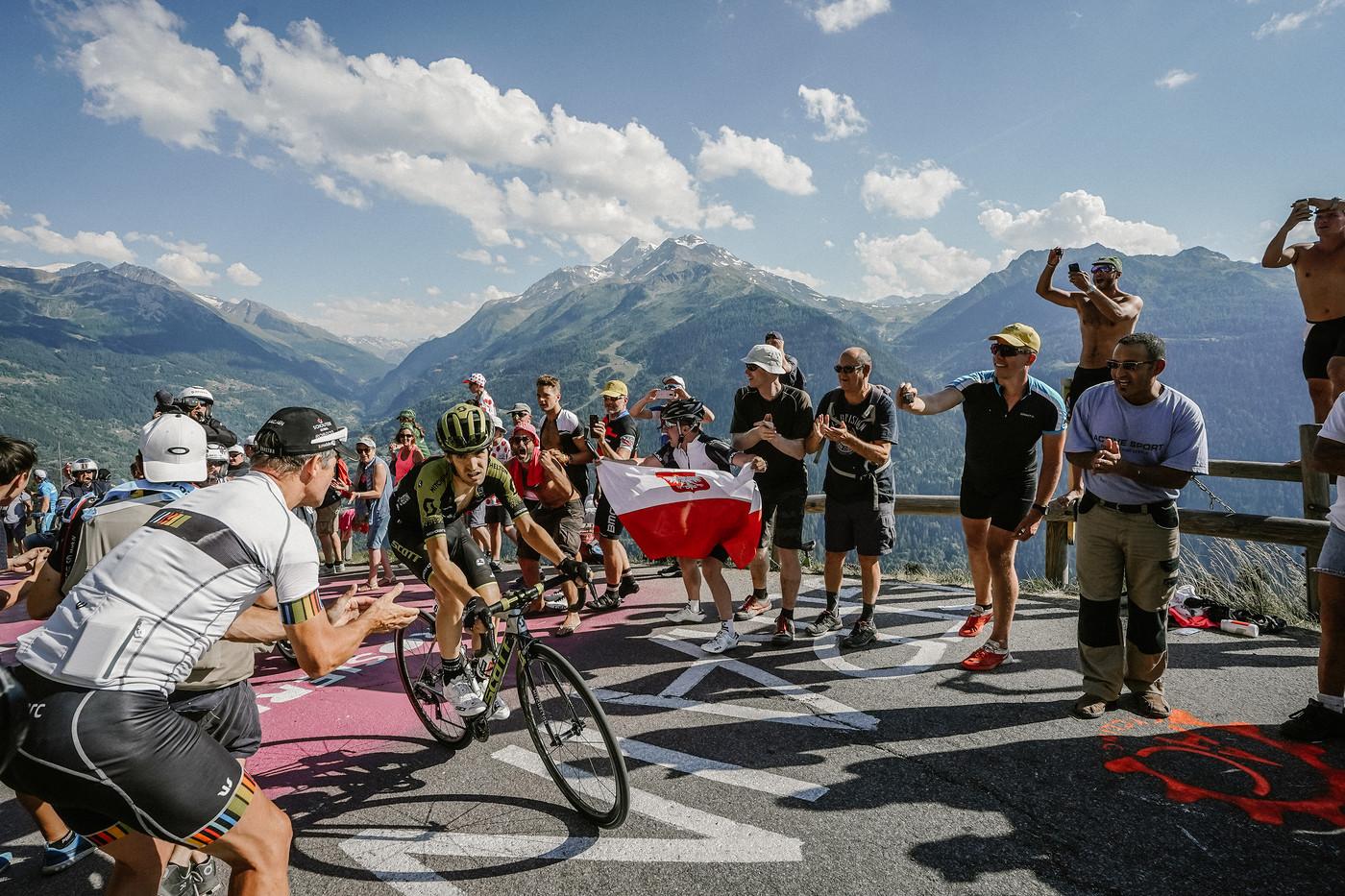 2018 Tour de France Richie Porte crashes out