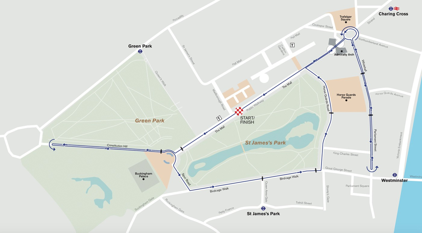 Prudential Ride London Classique Circuit