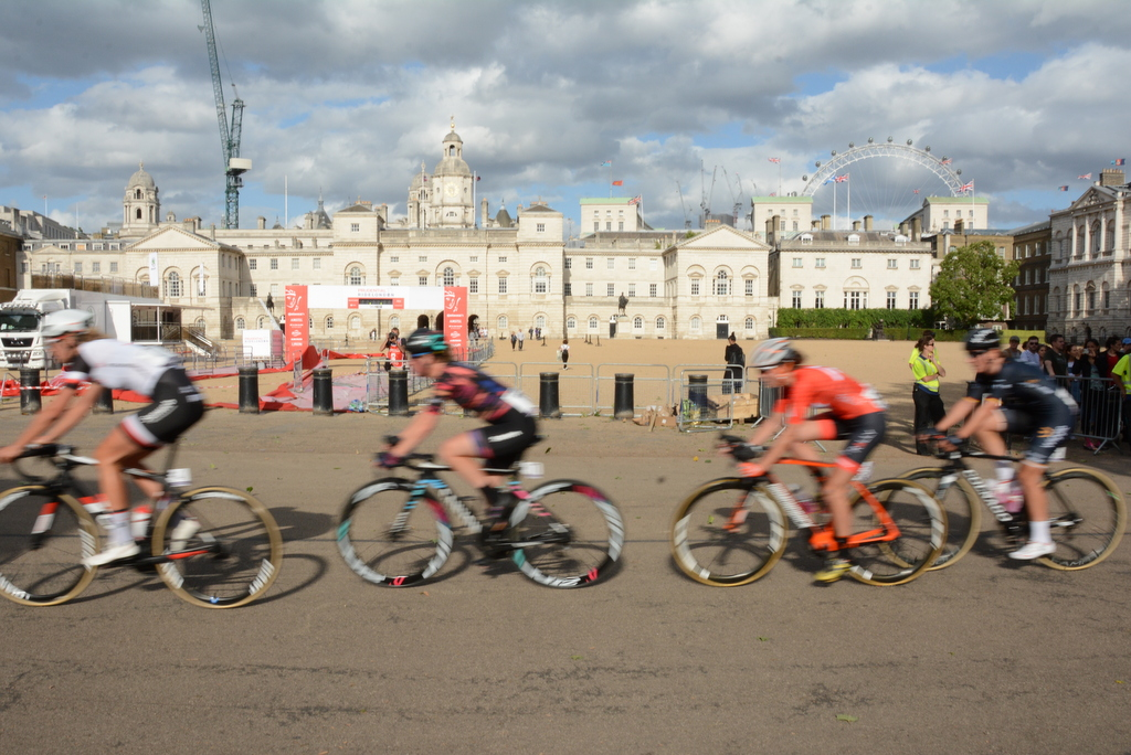 Prudential Ride London Classique Circuit passes Horse Guards Parade