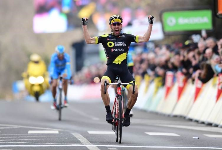 Wout Poels wins Paris-Nice time-trial and climbs into second overall
