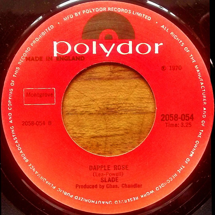 Slade Know Who You Are UK re-issued side 2