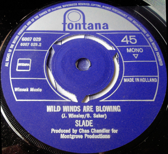 Slade Shape of Things To Come Holland side 2