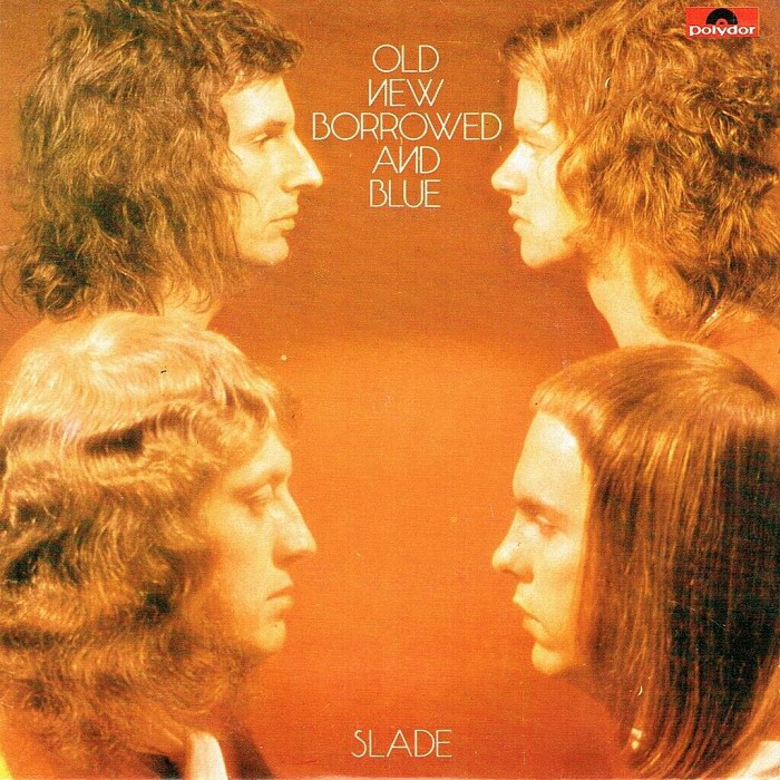 Slade Old, New, Borrowed and Blue EP Holland front