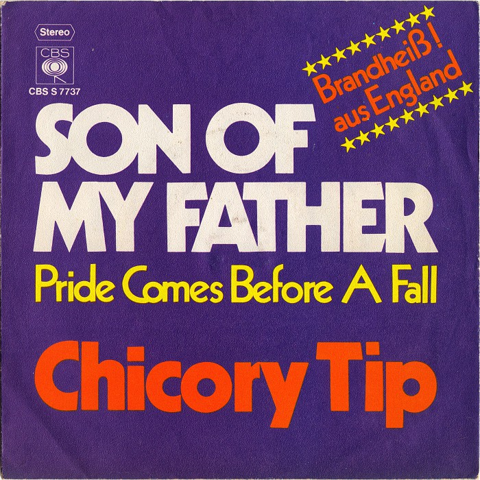 Chicory Tip Son of My Father Germany front