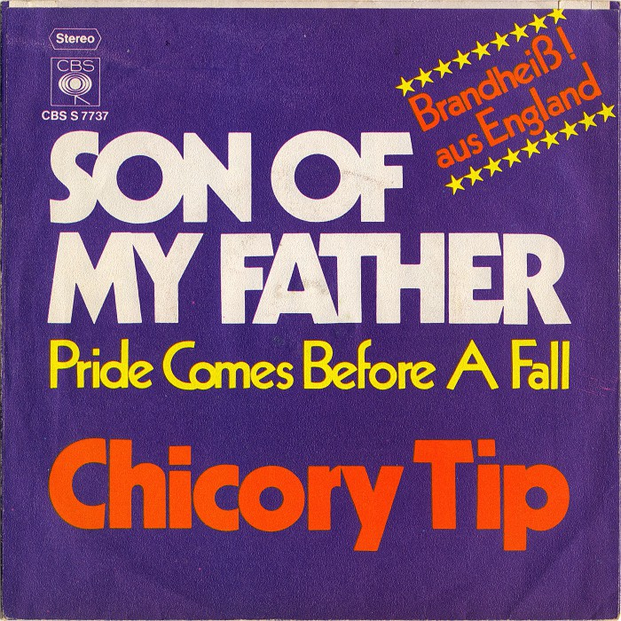 Chicory Tip Son of My Father Germany back