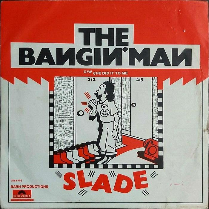 Slade The Bangin' Man UK front