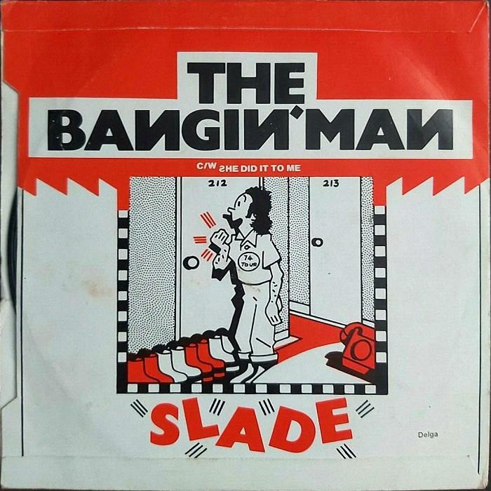 Slade The Bangin' Man UK back