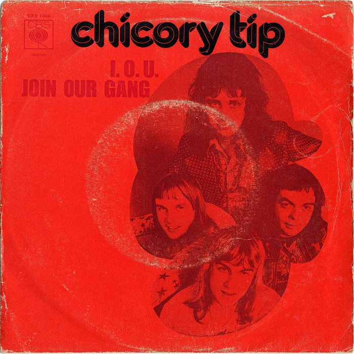Chicory Tip I.O.U. Portugal front