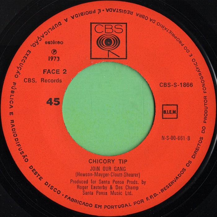 Chicory Tip I.O.U. Portugal side 2