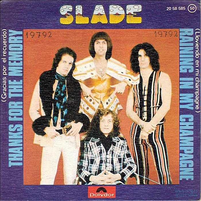 Slade Thanks For The Memory Spain back