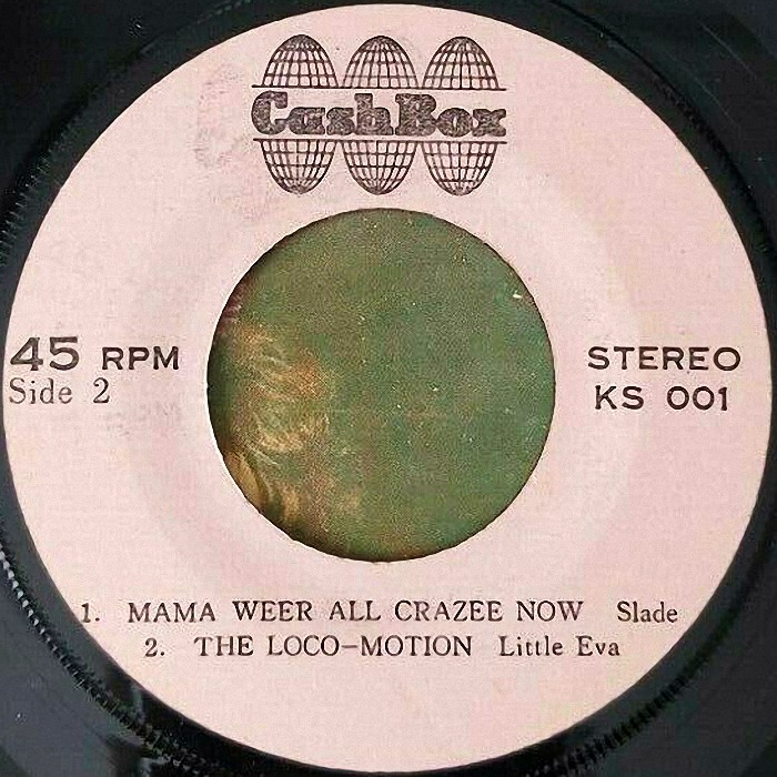 Slade Mama Weer All Crazee Now Thailand EP side 2