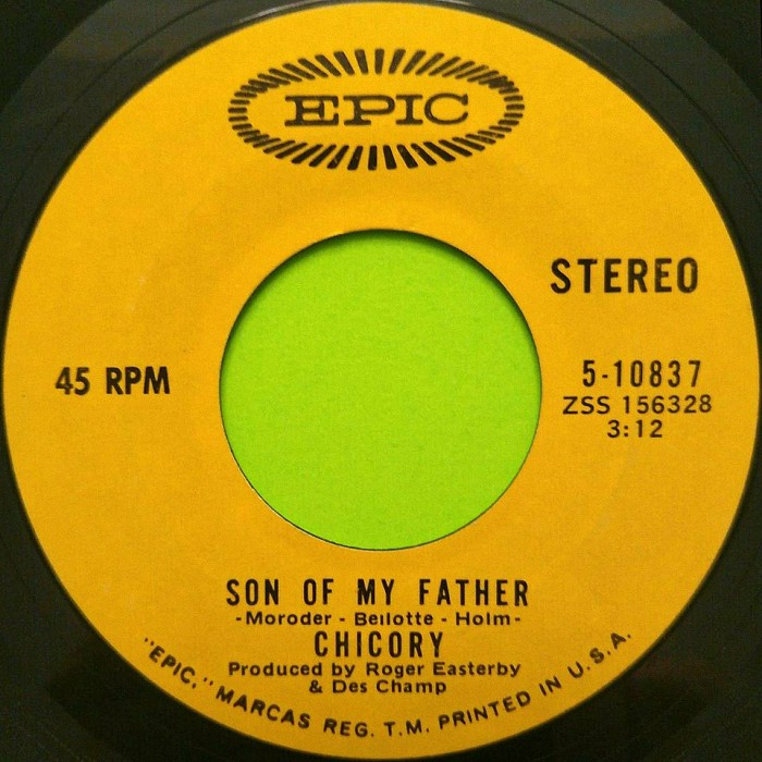 Chicory Son of My Father U.S.A. side 1