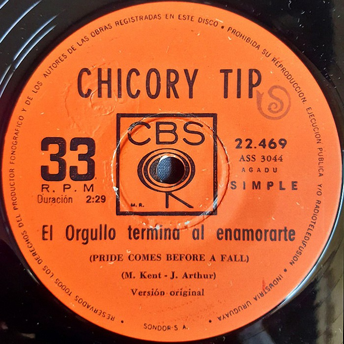 Chicory Tip Son of My Father Uruguay side 2