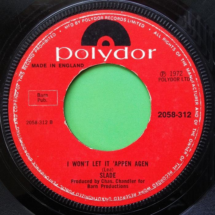 Slade Gudbuy T' Jane UK side 2 combo