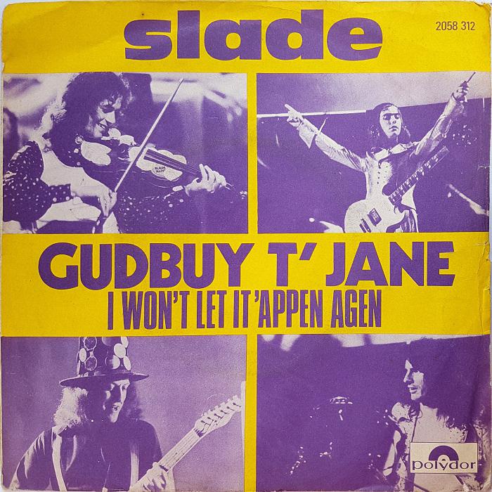 Slade Gudbuy T' Jane France front v2
