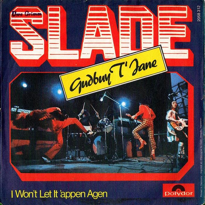 Slade Gudbuy T' Jane Germany back