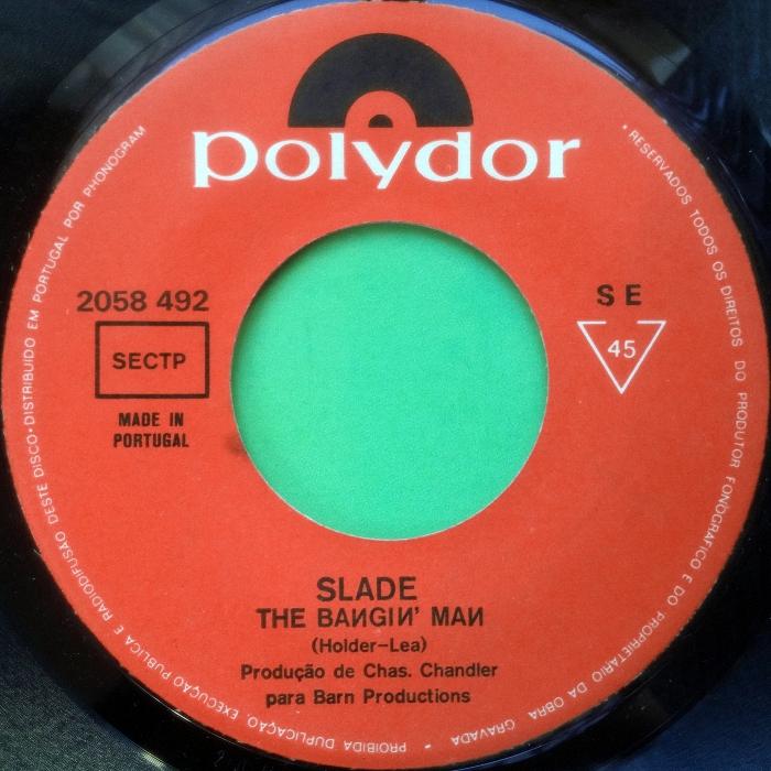 Slade The Bangin Man Portuga side 1