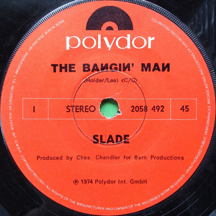 The Bangin Man New Zealand side 1