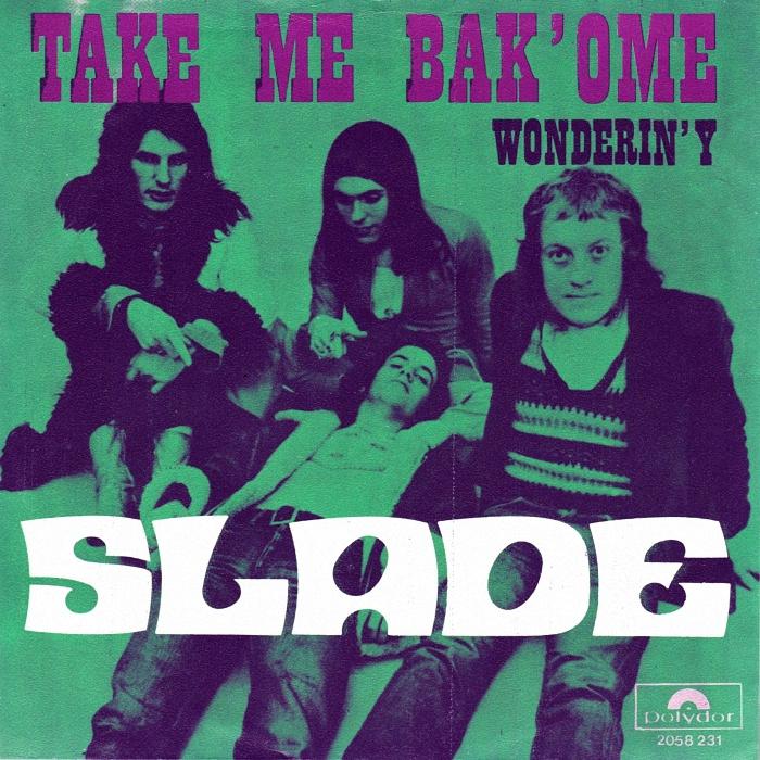 Slade Tak Me Bak Ome Belgium front