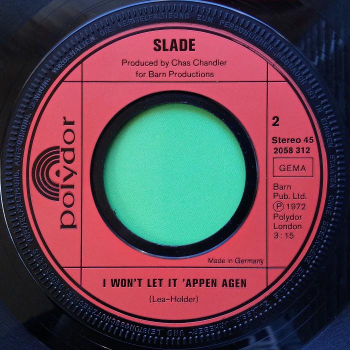 Slade Gudbuy T' Jane Germany side 2