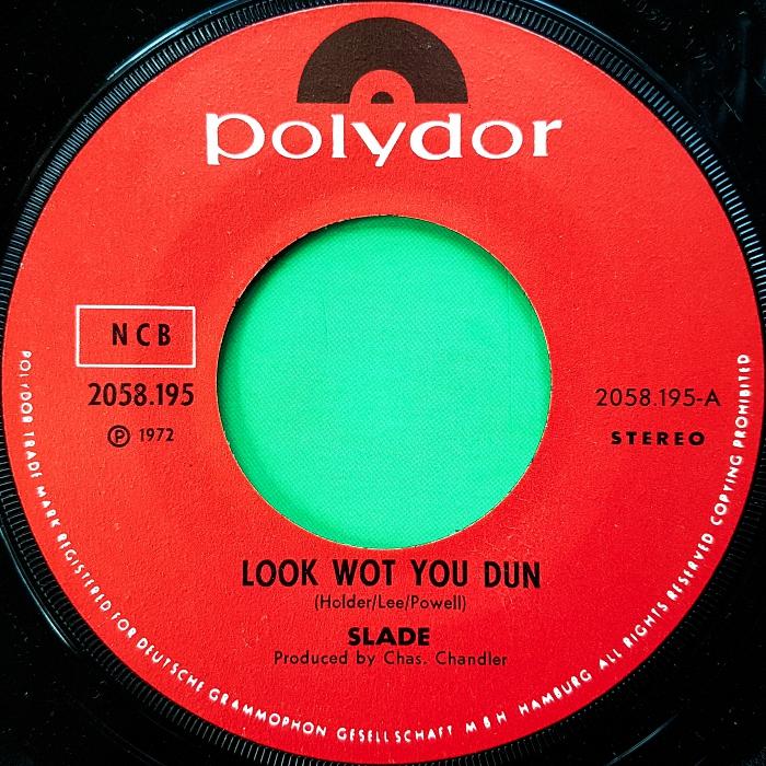 Slade Look Wot You Dun Norway side 1
