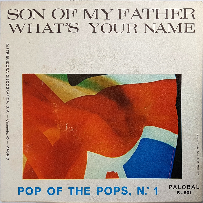 Pop Of The Pops Son of My Father Spain back