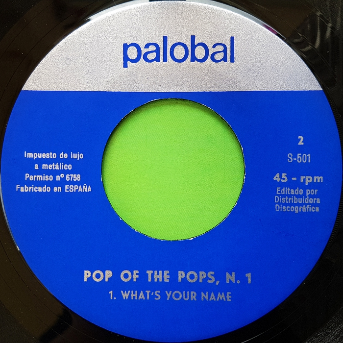 Pop Of The Pops Son of My Father Spain side 2
