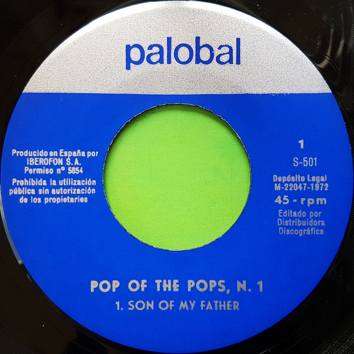Pop Of The Pops Son of My Father Spain side 1