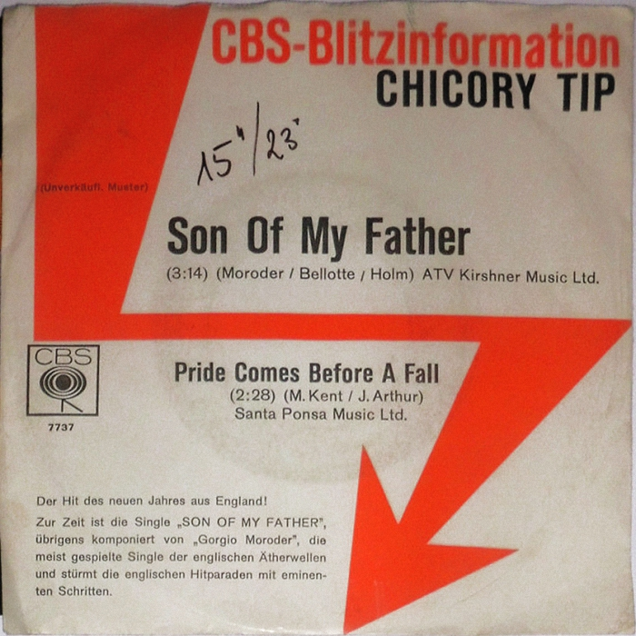Chicory Tip Son of My Father Germany promo front