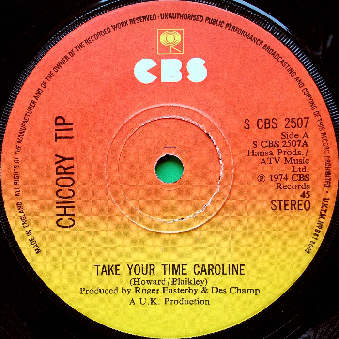 Chicory Tip Take Your Time Caroline U.K. side 1