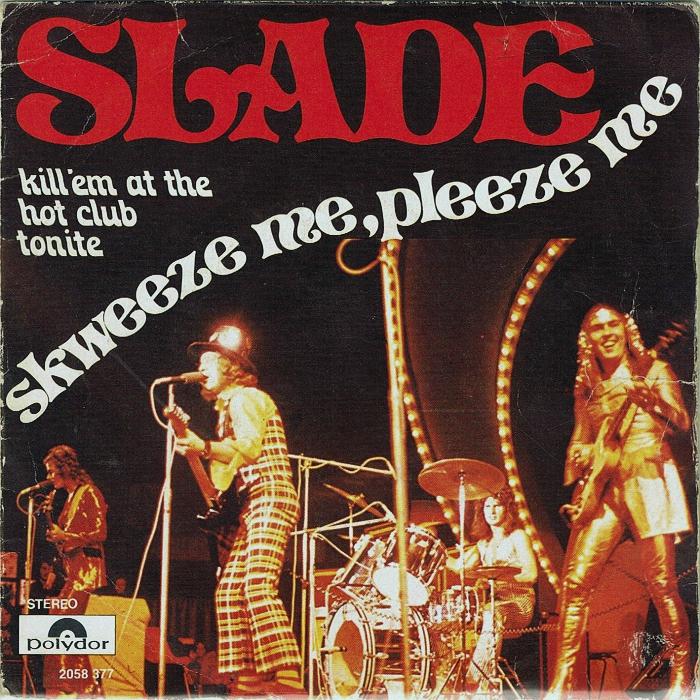 Slade Skweeze Me Pleeze Me Belgium front