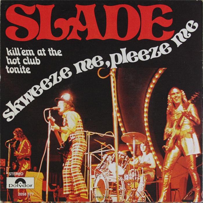 Slade Skweeze Me Pleeze Me Belgium back