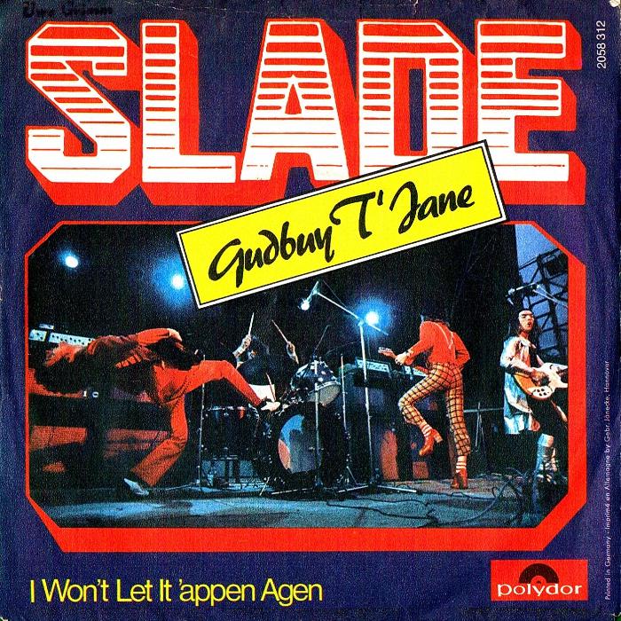 Slade Gudbuy T' Jane Germany front