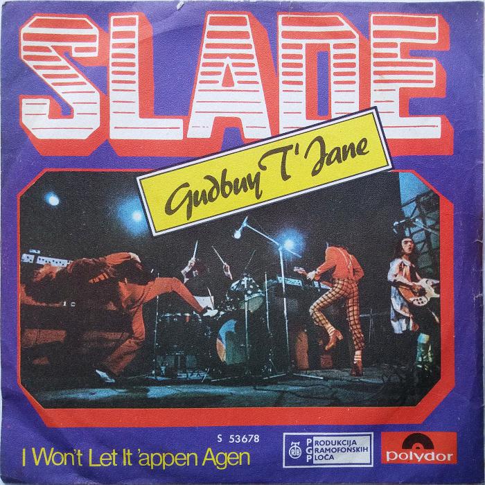 Slade Gudbuy T' Jane Yugoslavia front